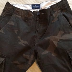 American Eagle jeans camouflage